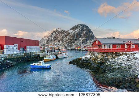 Stamsund, Lofoten Islands, Norway