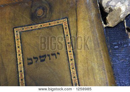 Prayer Book Titled Jerusalem