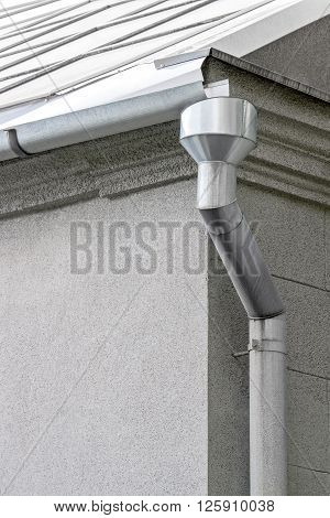 Galvanized Rain Water Downspout