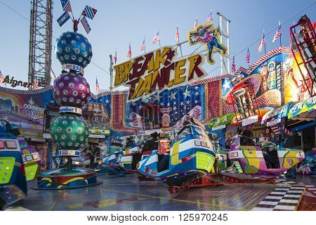 MUNICH, GERMANY - OCTOBER 02: Carousel