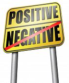 positive or negative optimism or pessimism bright side of life positivity and no negativity poster