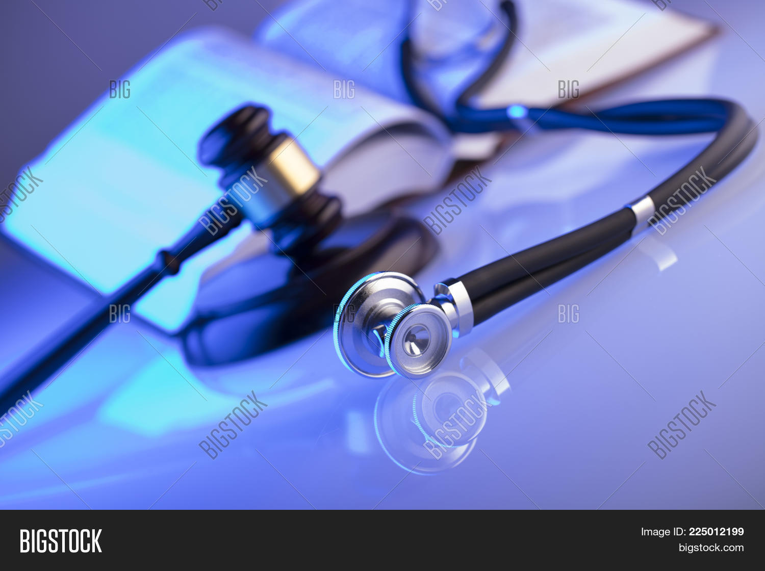 Stethoscope medical law concept powerpoint template stethoscope your text toneelgroepblik Image collections