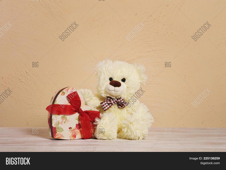 teddy bears on wooden powerpoint template teddy bears on wooden