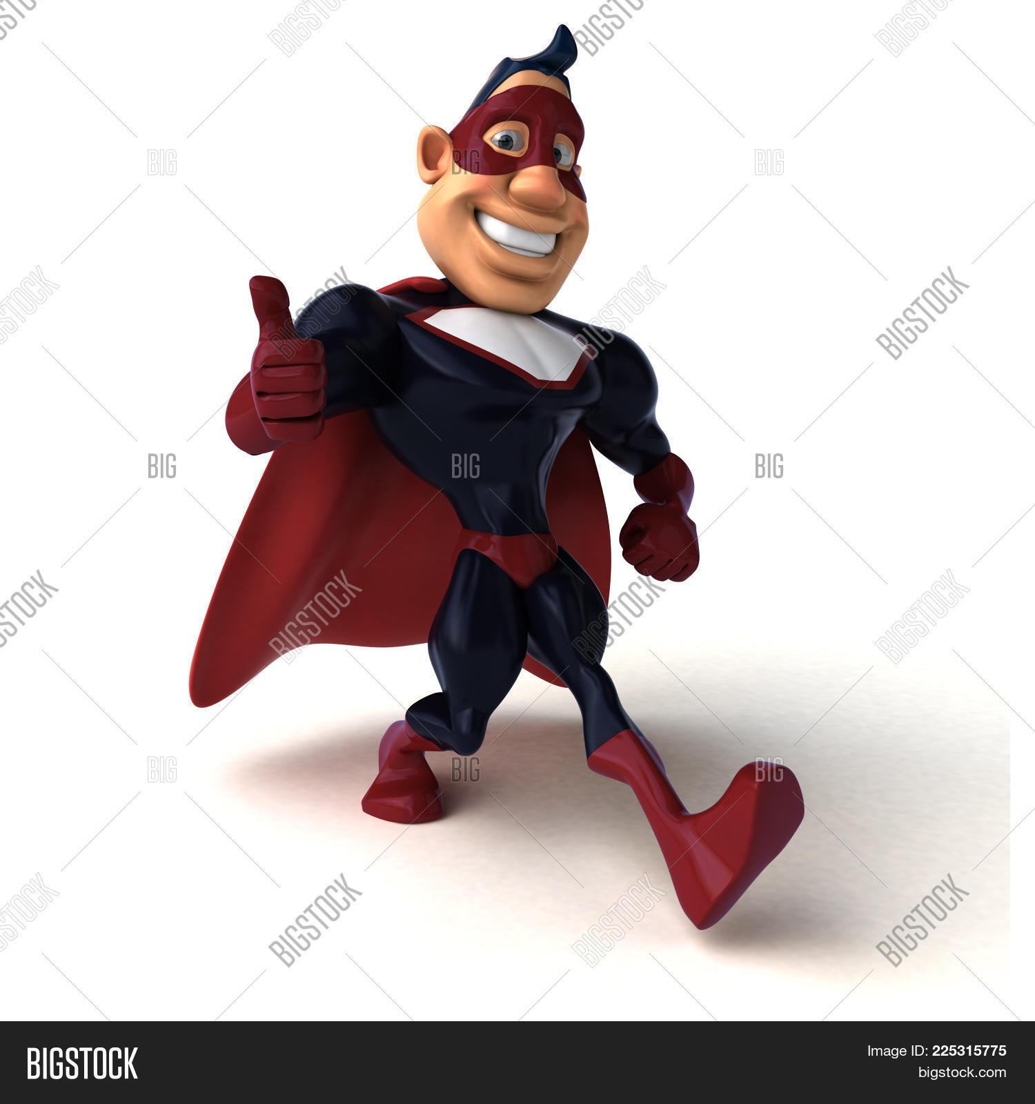 disguise illustration fun superhero powerpoint template disguise