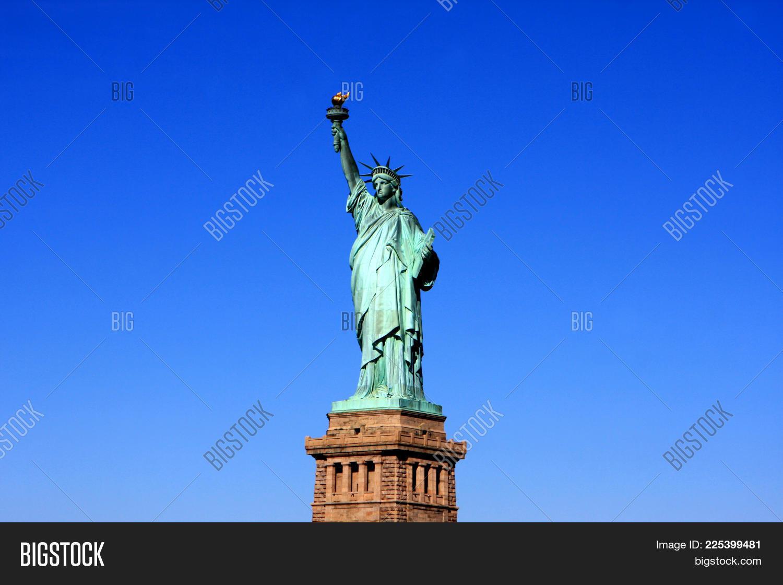 liberty statue liberty island new powerpoint template liberty