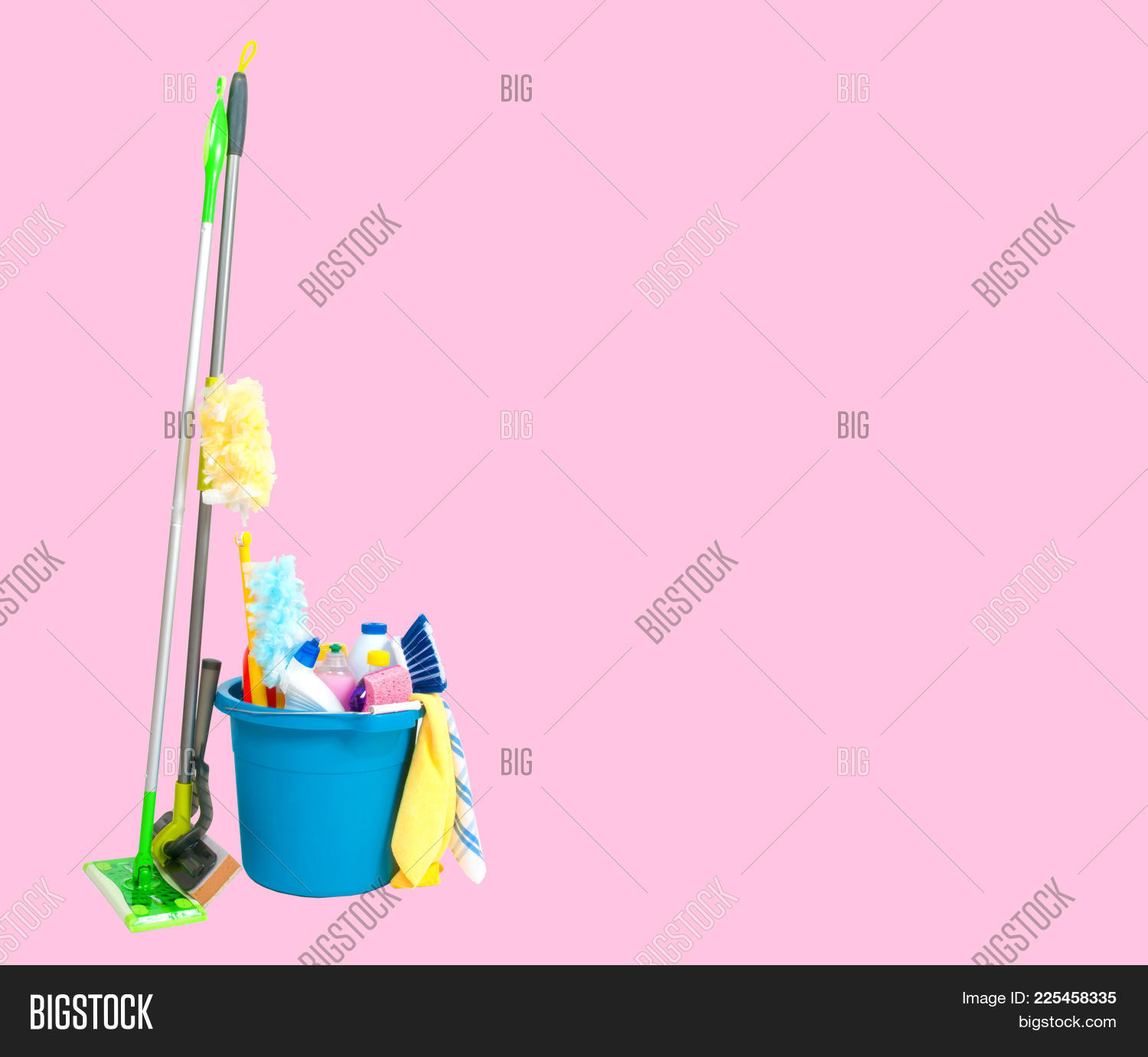 pink pastel house cleaning background www