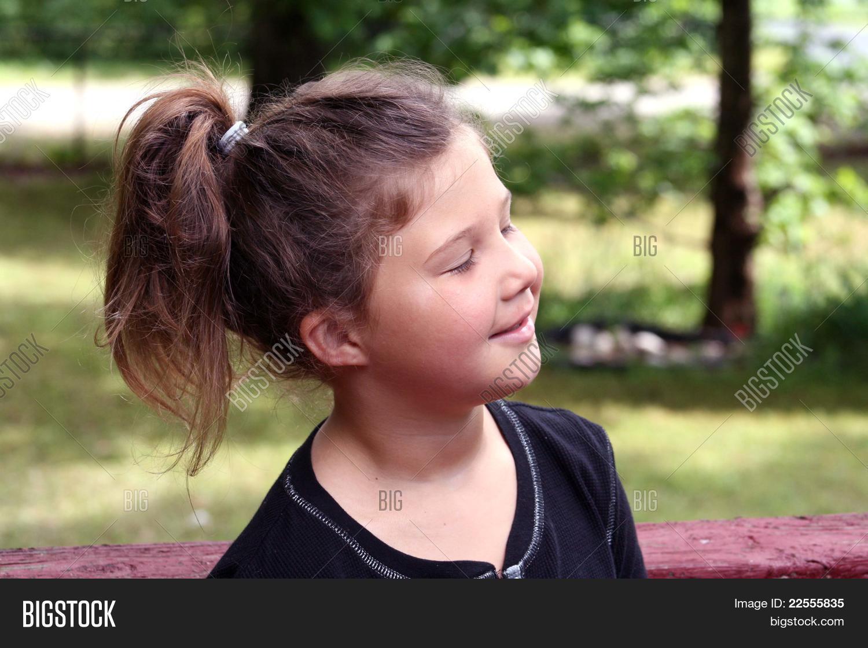 Tremendous Little Girl Ponytail Image Photo Free Trial Bigstock Schematic Wiring Diagrams Amerangerunnerswayorg