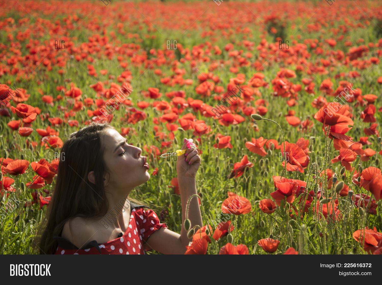 Opium Poppy Youth Image Photo Free Trial Bigstock