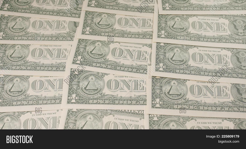 One Dollar Bill Powerpoint Template One Dollar Bill Powerpoint