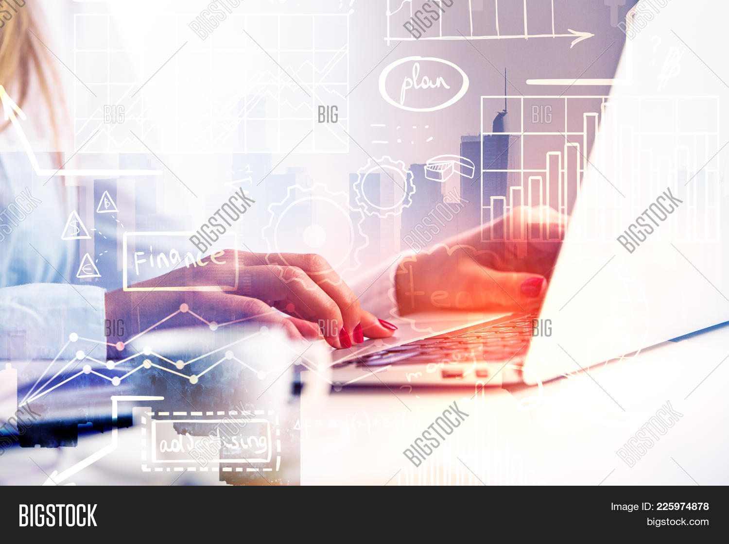 Business concept technology network powerpoint template business y toneelgroepblik Image collections
