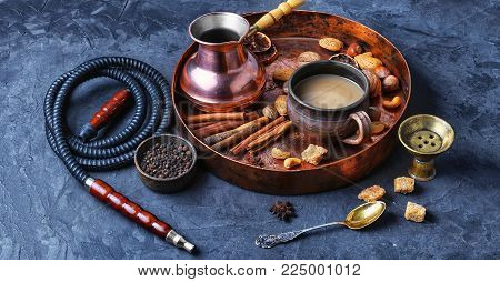 Coffee And Hookah