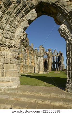 Whitby Abbey Ruine Yorkshire England