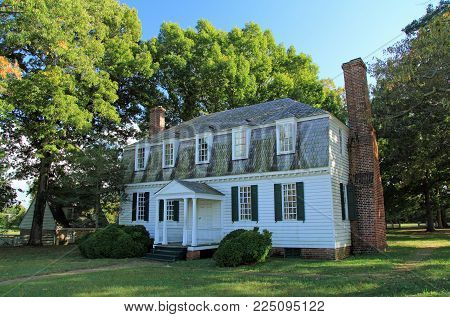 Yorktown, Va - October 7: The Historic Moore House Was The Site Of Negotiations Between The British