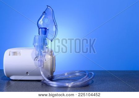 Medical nebulizer for the treatment of bronchitis. poster