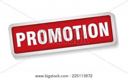 Vector Of Promotion Sign Stamp Label Marker Advertisement