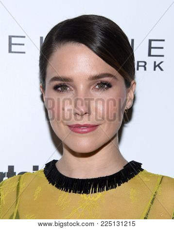 LOS ANGELES - JAN 20:  Sophia Bush arrives for the EW Magazine honors SAG Nominees on January 20, 2018 in West Hollywood, CA