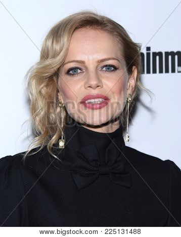 LOS ANGELES - JAN 20:  Mircea Monroe arrives for the EW Magazine honors SAG Nominees on January 20, 2018 in West Hollywood, CA