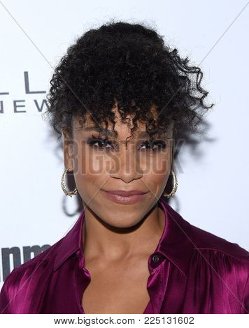 LOS ANGELES - JAN 20:  Kelly McCreary arrives for the EW Magazine honors SAG Nominees on January 20, 2018 in West Hollywood, CA