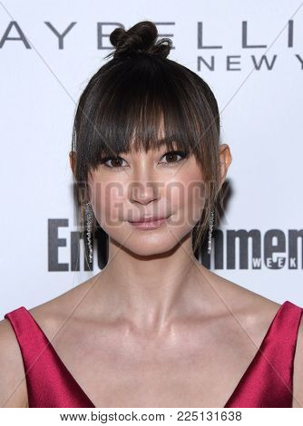 LOS ANGELES - JAN 20:  Kimiko Glenn arrives for the EW Magazine honors SAG Nominees on January 20, 2018 in West Hollywood, CA