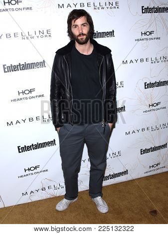 LOS ANGELES - JAN 20:  Jim Sturgess arrives for the EW Magazine honors SAG Nominees on January 20, 2018 in West Hollywood, CA