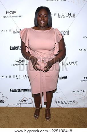 LOS ANGELES - JAN 20:  Danielle Brooks arrives for the EW Magazine honors SAG Nominees on January 20, 2018 in West Hollywood, CA