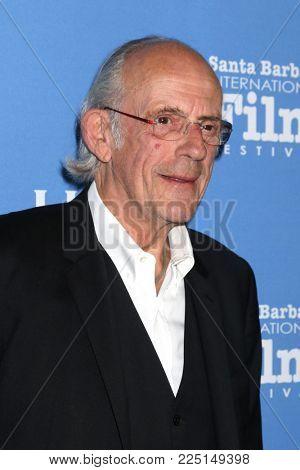 SANTA BARBARA - FEB 3:  Christopher Lloyd at the 33rd Annual Santa Barbara International Film Festival Virtuosos Award at Arlington Theater on February 3, 2018 in Santa Barbara, CA