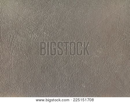 Grey Leatherette Texture Useful As A Background