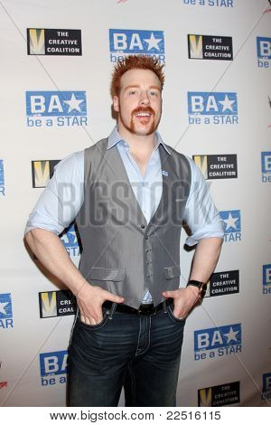 LOS ANGELES - AUG 11:  Sheamus arriving at the