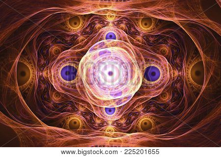 fractal frequency space universe galaxy psychedelic music or for any other concept. Geometric patterns.