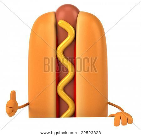 Hotdog chef