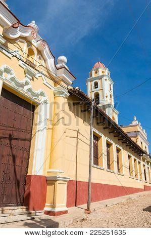Trinidad, Cuba. Unesco World Heritage Site. Tower Of Museo Nacional De La Lucha Contra Bandidos