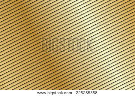 Abstract Gold Background, Beige Diagonal Stripes, Orange Modern Texture