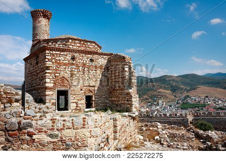 Buildings Inside The Ayasuluk Castle In Selcuk. Turkey