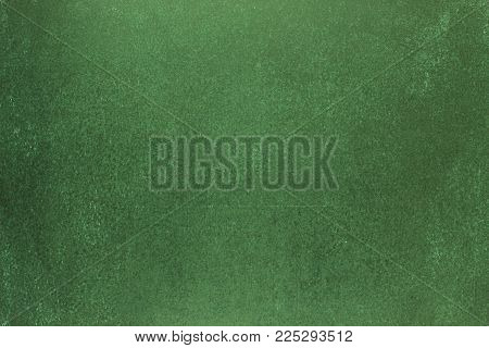 Green blackboard, blank background of school board. blackboard background for text or picture