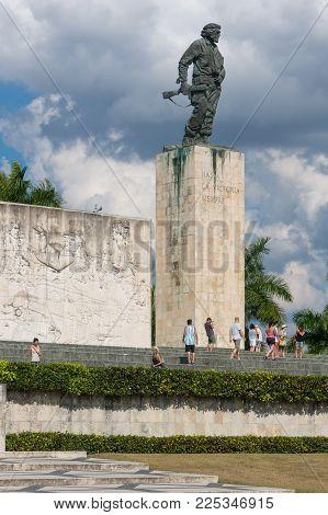 Che Guevara Memorial And Museum In Santa Clara, Cuba.
