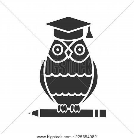 Owl Graduation Cap On Vector Photo Free Trial Bigstock