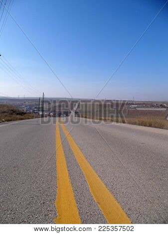 Asphalt Road Pictures Suitable For Prolonged Perspective Rules