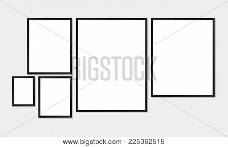 Set Simple Frames Vector & Photo (Free Trial) | Bigstock