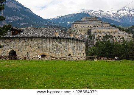 Fort Victor-emmanuel In Vanoise National Park, French Alps