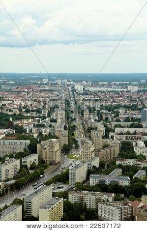 Berlin Street From Above