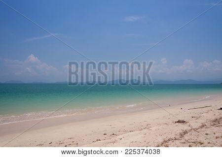 Emerald Sea And Beautiful Sky At Phuket , Thailand