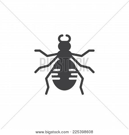 Ground Beetle Icon Vector & Photo (Free Trial)   Bigstock