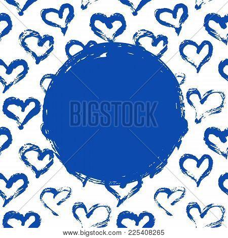 Hearts Card Template