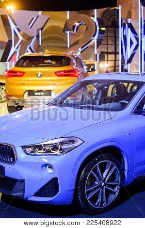 Stand New Bmw X2 At The Show