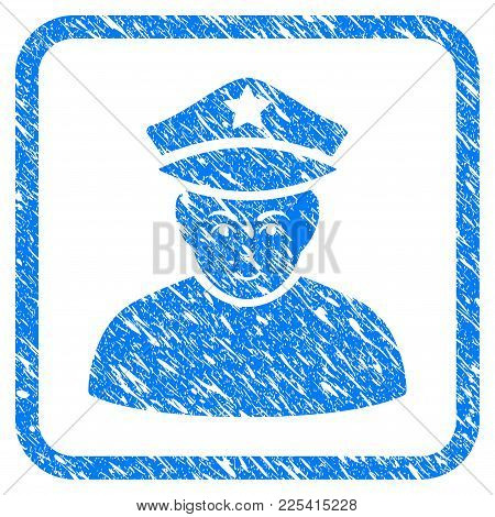 Army General Rubber Seal Stamp Imitation. Icon Vector Symbol With Grunge Design And Dirty Texture In