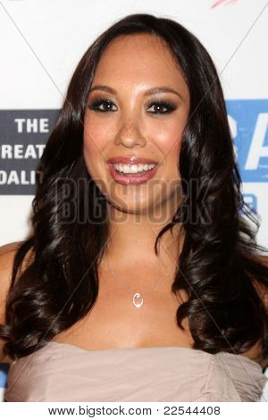 LOS ANGELES - AUG 11:  Cheryl Burke  arriving at the