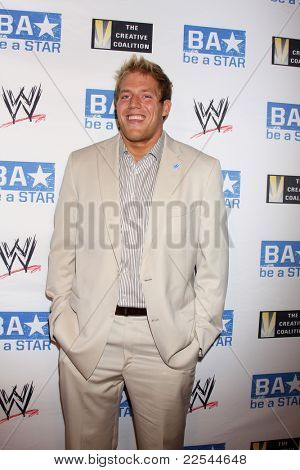 LOS ANGELES - AUG 11:  Jack Swagger  arriving at the