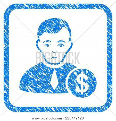 Commercial Lawyer Rubber Seal Stamp Watermark. Icon Vector Symbol With Grunge Design And Dirty Textu