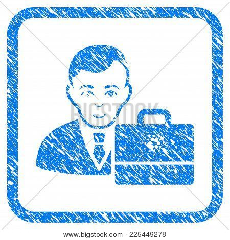 Cardano Accounter Rubber Seal Stamp Watermark. Icon Vector Symbol With Grunge Design And Corrosion T