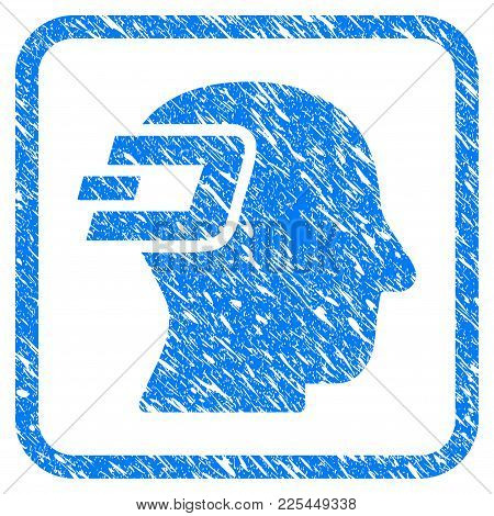 Dash Imagination Rubber Seal Stamp Imitation. Icon Vector Symbol With Grunge Design And Dust Texture